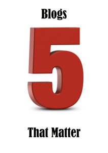 5 blogs that matter