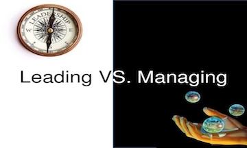 Leading vs Managing